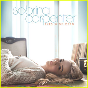 Sabrina Carpenter Debuts 'Eyes Wide Open' Album Cover & It's Beautiful!