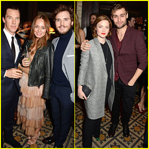 Sam Claflin Brings Wife Laura Haddock Along for BAFTA Weekend!
