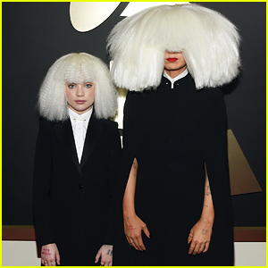 Maddie Ziegler Supports Sia at the Grammys 2015
