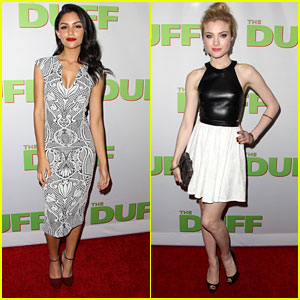 Bianca Santos & Skyler Samuels Hit 'The DUFF' Premiere In Style - See Their Stunning Looks!