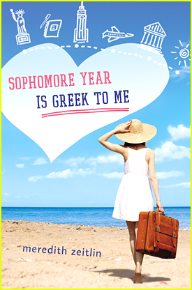 The 'Sophomore Year Is Greek To Me' Book Trailer Has Us Dreaming Of Summer Escapes - JJJ Book Club Exclusive!