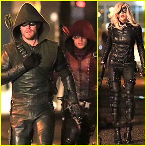 Stephen Amell Shoots 'Arrow' Scenes Before 60th Episode Airs