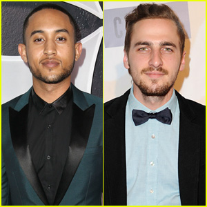 Tahj Mowry & Kendall Schmidt Are Handsome Grammys Party Guys!