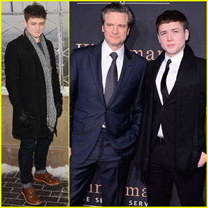 Taron Egerton Opens Up & Says 'Kingsman' Co-star Colin Firth is 'A Great Man'
