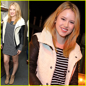 Taylor Spreitler Hits Up Dr. Scholls Event After 'Melissa & Joey' Cancellation