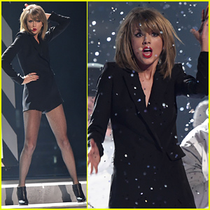 Taylor Swift Sings 'Blank Space' at BRIT Awards 2015 - Watch Now!