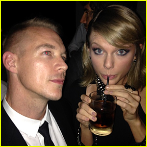 Taylor Swift Makes Nice with Diplo at Grammys 2015 After Party - See the Pic!