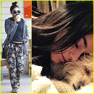 Vanessa Hudgens Feels Good to Be Reunited With Pet Pooch