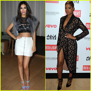 Victoria Justice & Keke Palmer Are Hot Hot Hot at the Grammy 2015 After-Parties!