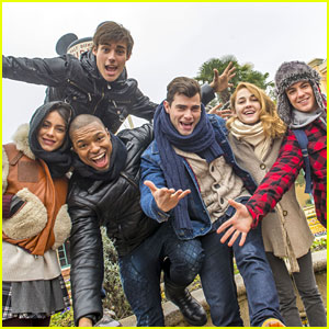 Martina Stoessel & 'Violetta' Cast Enjoy Day at Disneyland Paris Together