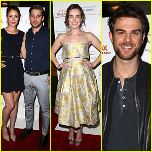 Amanda Crew & Nathaniel Buzolic 'Raise The Bar' For A Cure For Parkinson's