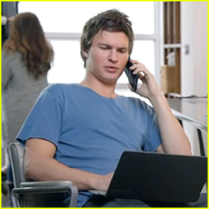 Ansel Elgort Has to Pay Big Price to Win In MTV Movie Awards Promo (Video)