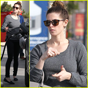 Ashley Greene Fuels Up After Celebrating 28th Birthday