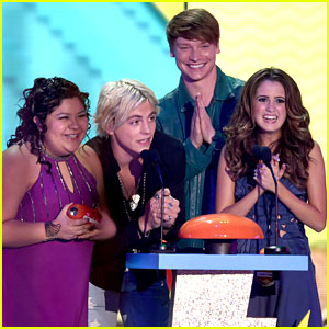 The 'Austin & Ally' Cast React To Winning At Kids Choice Awards 2015!