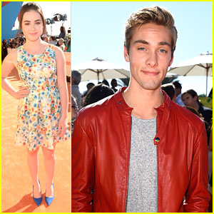 Austin North & Sarah Gilman Hit Up Kids Choice Awards Ahead Of New 'I Didn't Do It' Tomorrow