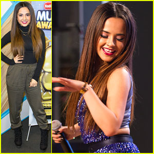 Becky G Kicks Off 'On The Road To RDMAs' Live Tour in New York City!