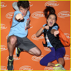 Brett Dier & Girlfriend Haley Lu Richardson Kick Off LA Marathon Weekend Together