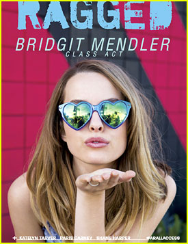 Bridgit Mendler Covers 'Ragged Mag's Newest Issue & Dishes On New Music!