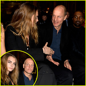 Cara Delevingne Meets Hunger Games' Woody Harrelson at Stella McCartney Show!