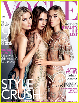 Suki Waterhouse & Cara Delevingne Are BFFs for 'British Vogue'
