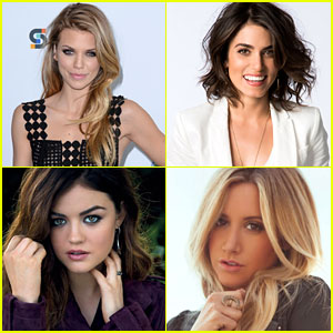 AnnaLynne McCord, Lucy Hale, Nikki Reed & More Celebrate International Women's Day - Read Their Messages Here!