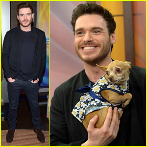 Richard Madden + Cute Puppy = Charming As Can Be!