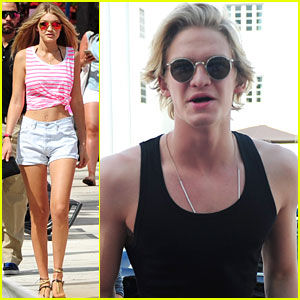Cody Simpson & Gigi Hadid Party It Up At Victoria's Secret Spring Break Bash