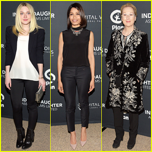 Dakota Fanning & Freida Pinto Support 'India's Daughter' Doc at New York Screening!
