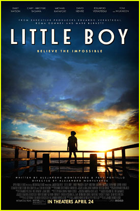 David Henrie Debuts Official 'Little Boy' Poster