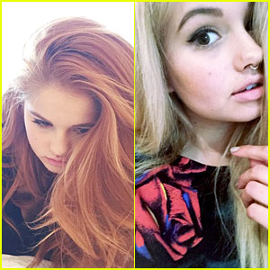 Debby Ryan Goes Back To Blonde After New York City Trip Debby Ryan
