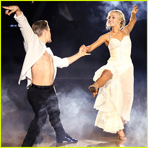Derek Hough is 'Incredibly Proud' of Nastia Liukin's Rumba - See the Pics!