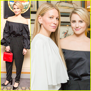 Dianna Agron Has Mumford & Sons' Album on Her Mind in Paris