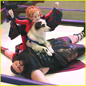 Chloe Wrestles With Stan on 'Dog With A Blog' Tonight!
