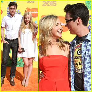 Oh No! Dove Cameron Had To Leave KCAs 2015 Early Because She Twisted Her Ankle!