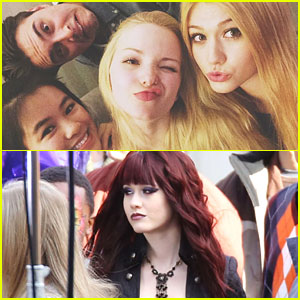 Dove Cameron Is Now A Night Owl; Continues Filming 'Monsterville' with Ryan McCartan & Dark-Haired Katherine McNamara