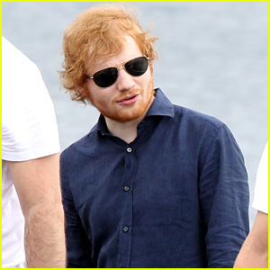 Ed Sheeran Films Cameo in Australia's 'Home & Away' - See the Pics!