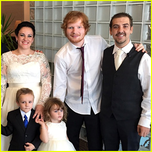 Ed Sheeran Sings 'Thinking Out Loud' While Surprising Couple at Their Wedding - Watch Now!