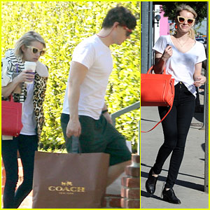 Emma Roberts' Fiance Evan Peters Thinks It's Fun To Scare People
