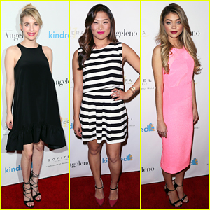 Jenna Ushkowitz & Sarah Hyland Step Out in Style for Kindred Fundraiser!