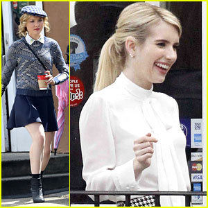 Emma Roberts & Skyler Samuels Start Filming 'Scream Queens' After New Teaser Drops