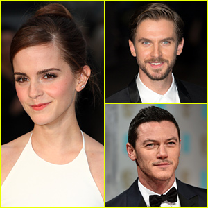 Emma Watson Welcomes New 'Beauty & the Beast' Actors to the Cast!