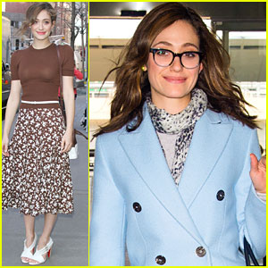 Emmy Rossum Admits It's A Bit 'Scary' Living Next To Justin Bieber