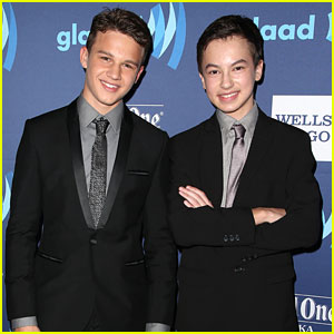 Gavin MacIntosh & Hayden Byerly Bring #Jonnor To GLAAD Media Awards 2015