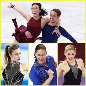 Madison Chock & Evan Bates Score Silver at World Championships; Gracie Gold & Jason Brown Take 4th in Shanghai