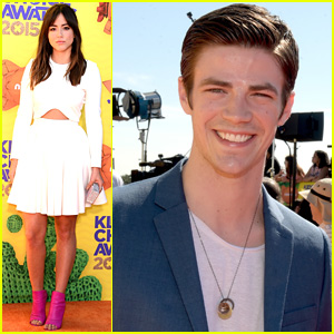 Grant Gustin & Chloe Bennet Present Together at Kids' Choice Awards 2015