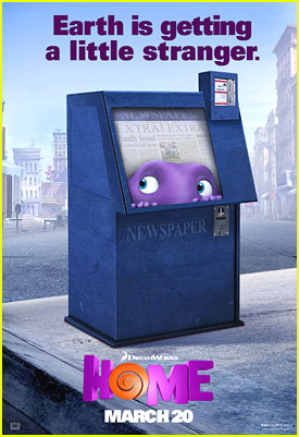 'Home's Oh Hides Out In A Grocery Store & Newspaper Box In New Posters - See Them Here!