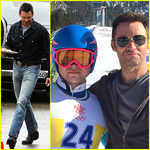Taron Egerton Starts Shooting 'Eddie The Eagle' With Hugh Jackman