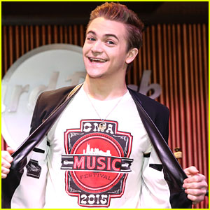 Hunter Hayes Reveals New CMA Festival Branding Ahead Of Lineup Announcement