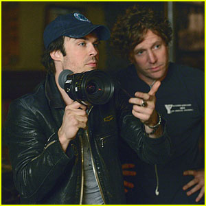 Ian Somerhalder Directs Tonight's 'The Vampire Diaries'!