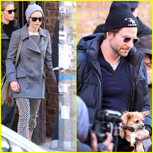 Jennifer Lawrence Heads Out Into NYC With Bradley Cooper